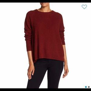 Province cross body knit pullover